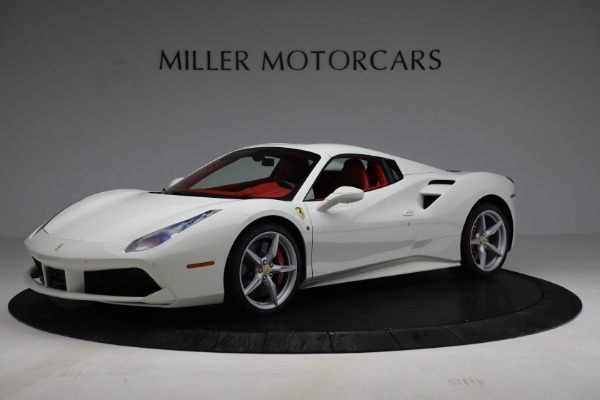 Used 2017 Ferrari 488 Spider for sale Call for price at Maserati of Greenwich in Greenwich CT 06830 14
