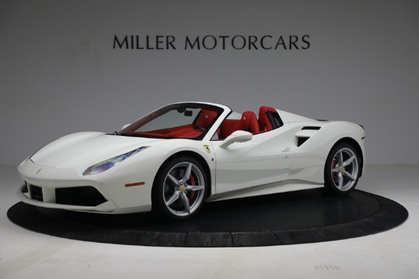 Used 2017 Ferrari 488 Spider for sale Call for price at Maserati of Greenwich in Greenwich CT 06830 2