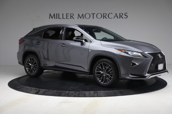 Used 2018 Lexus RX 350 F SPORT for sale Sold at Maserati of Greenwich in Greenwich CT 06830 10
