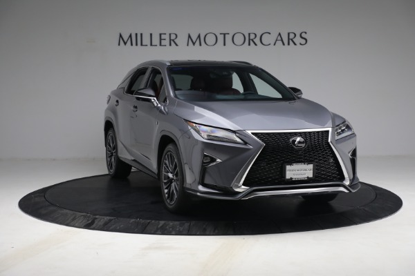Used 2018 Lexus RX 350 F SPORT for sale Sold at Maserati of Greenwich in Greenwich CT 06830 11