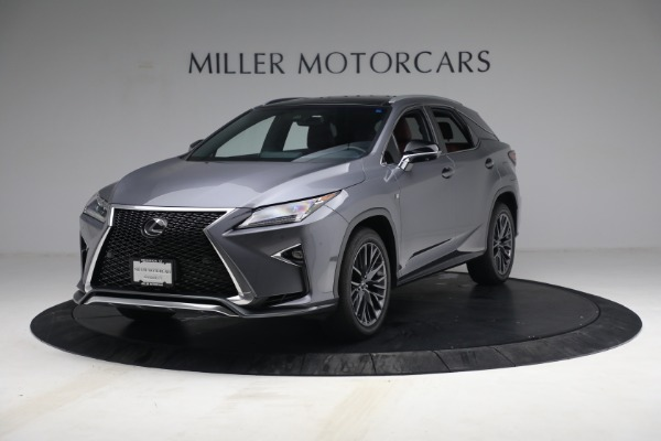 Used 2018 Lexus RX 350 F SPORT for sale Sold at Maserati of Greenwich in Greenwich CT 06830 1