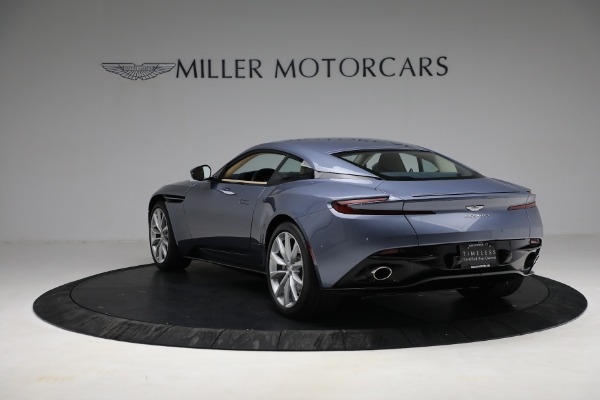 Used 2018 Aston Martin DB11 V12 for sale Sold at Maserati of Greenwich in Greenwich CT 06830 4
