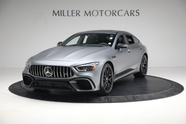 Used 2019 Mercedes-Benz AMG GT 63 for sale Call for price at Maserati of Greenwich in Greenwich CT 06830 1