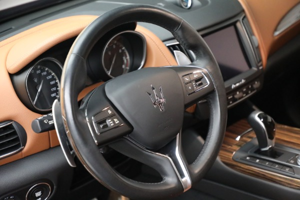 Used 2018 Maserati Levante GranSport for sale Sold at Maserati of Greenwich in Greenwich CT 06830 17