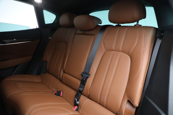 Used 2018 Maserati Levante GranSport for sale Sold at Maserati of Greenwich in Greenwich CT 06830 23