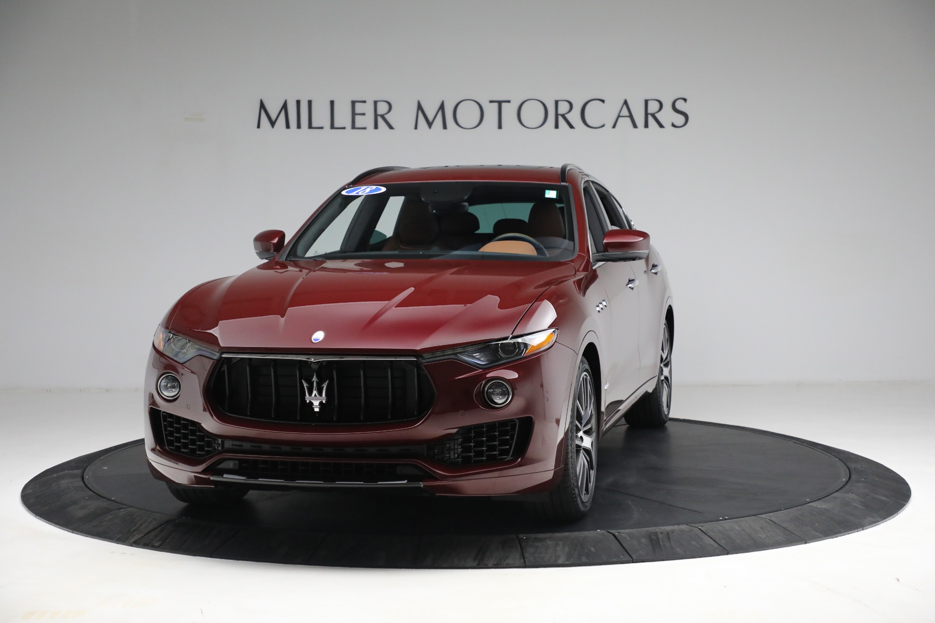 Used 2018 Maserati Levante GranSport for sale Sold at Maserati of Greenwich in Greenwich CT 06830 1