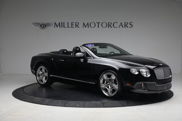 Used 2012 Bentley Continental GTC GT for sale $119,900 at Maserati of Greenwich in Greenwich CT 06830 10