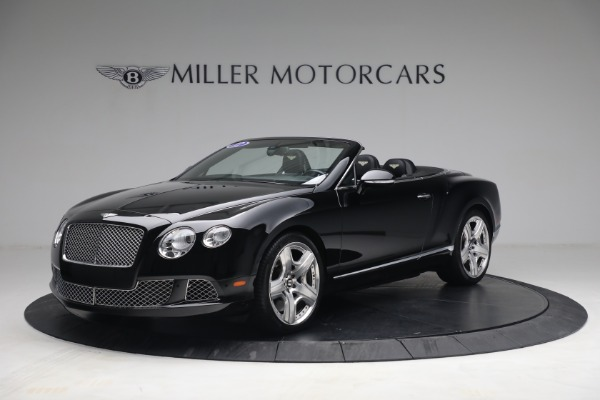 Used 2012 Bentley Continental GTC GT for sale $119,900 at Maserati of Greenwich in Greenwich CT 06830 1