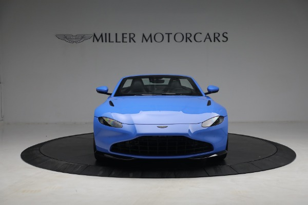 New 2021 Aston Martin Vantage Roadster for sale $186,386 at Maserati of Greenwich in Greenwich CT 06830 10