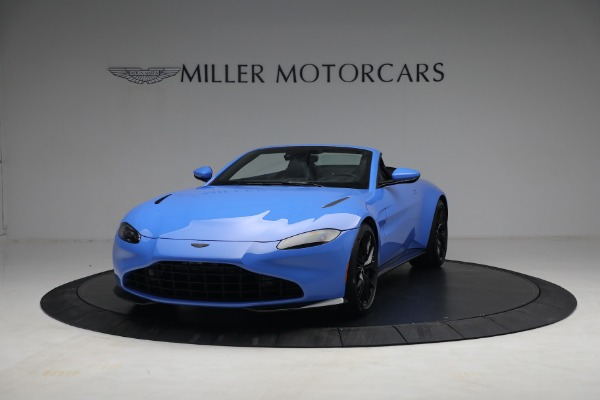 New 2021 Aston Martin Vantage Roadster for sale $186,386 at Maserati of Greenwich in Greenwich CT 06830 11