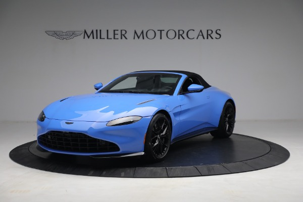 New 2021 Aston Martin Vantage Roadster for sale $186,386 at Maserati of Greenwich in Greenwich CT 06830 12