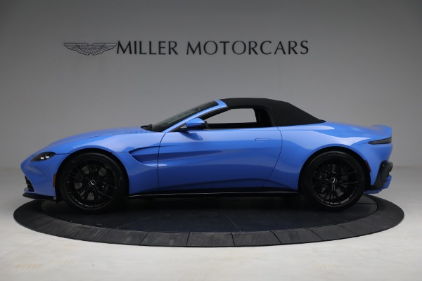New 2021 Aston Martin Vantage Roadster for sale $186,386 at Maserati of Greenwich in Greenwich CT 06830 13