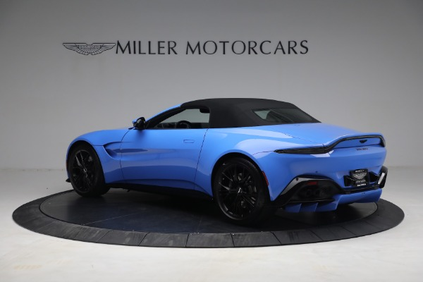 New 2021 Aston Martin Vantage Roadster for sale $186,386 at Maserati of Greenwich in Greenwich CT 06830 14