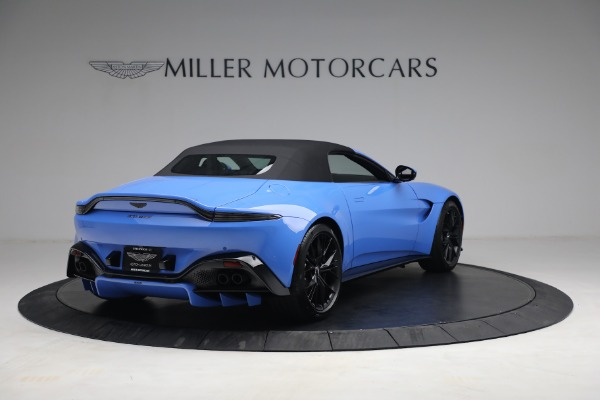 New 2021 Aston Martin Vantage Roadster for sale $186,386 at Maserati of Greenwich in Greenwich CT 06830 15