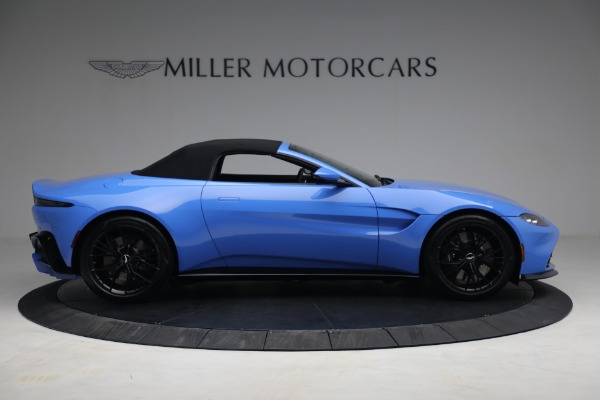 New 2021 Aston Martin Vantage Roadster for sale $186,386 at Maserati of Greenwich in Greenwich CT 06830 16
