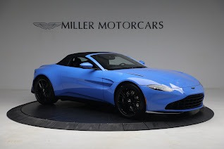 New 2021 Aston Martin Vantage Roadster for sale $186,386 at Maserati of Greenwich in Greenwich CT 06830 17