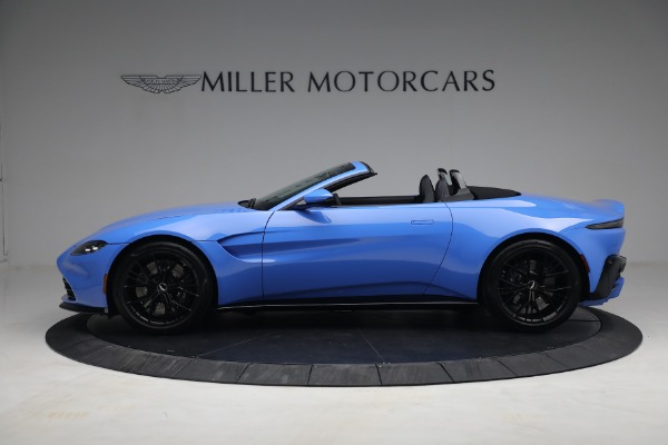 New 2021 Aston Martin Vantage Roadster for sale $186,386 at Maserati of Greenwich in Greenwich CT 06830 2