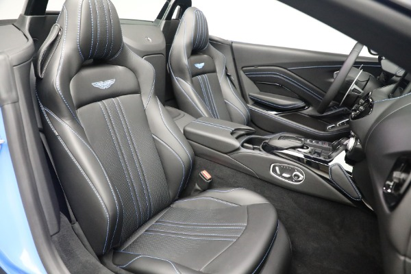 New 2021 Aston Martin Vantage Roadster for sale $186,386 at Maserati of Greenwich in Greenwich CT 06830 22