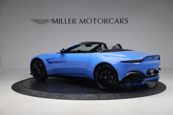 New 2021 Aston Martin Vantage Roadster for sale $186,386 at Maserati of Greenwich in Greenwich CT 06830 3