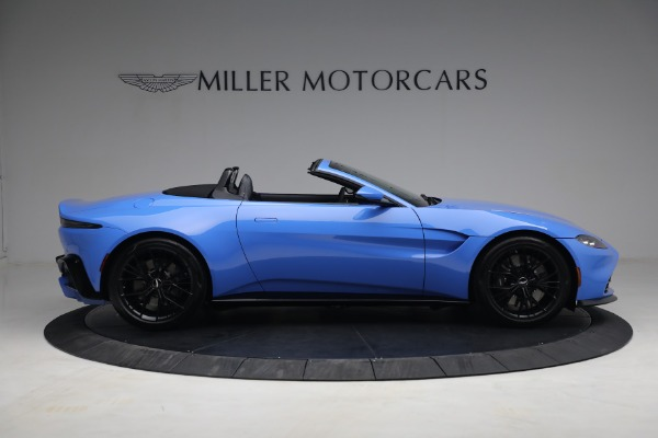 New 2021 Aston Martin Vantage Roadster for sale $186,386 at Maserati of Greenwich in Greenwich CT 06830 7
