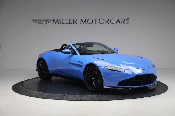 New 2021 Aston Martin Vantage Roadster for sale $186,386 at Maserati of Greenwich in Greenwich CT 06830 9