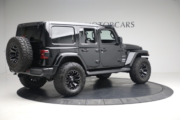 Used 2020 Jeep Wrangler Unlimited Sahara for sale Sold at Maserati of Greenwich in Greenwich CT 06830 10