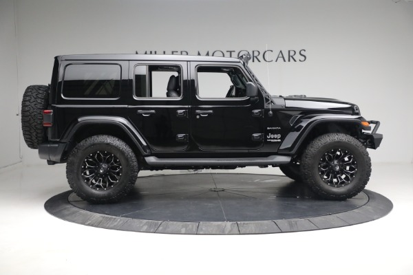 Used 2020 Jeep Wrangler Unlimited Sahara for sale Sold at Maserati of Greenwich in Greenwich CT 06830 11