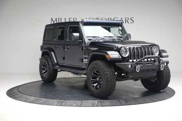 Used 2020 Jeep Wrangler Unlimited Sahara for sale Sold at Maserati of Greenwich in Greenwich CT 06830 13