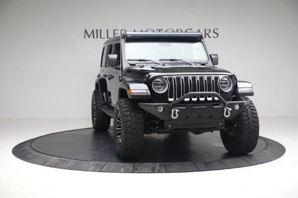 Used 2020 Jeep Wrangler Unlimited Sahara for sale Sold at Maserati of Greenwich in Greenwich CT 06830 14