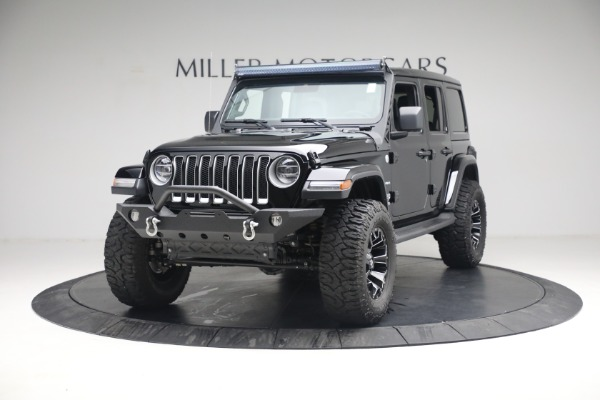 Used 2020 Jeep Wrangler Unlimited Sahara for sale Sold at Maserati of Greenwich in Greenwich CT 06830 16