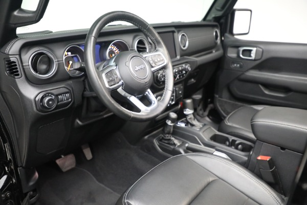 Used 2020 Jeep Wrangler Unlimited Sahara for sale Sold at Maserati of Greenwich in Greenwich CT 06830 19