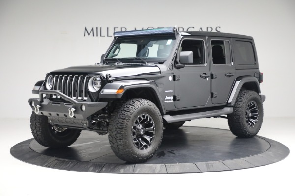 Used 2020 Jeep Wrangler Unlimited Sahara for sale Sold at Maserati of Greenwich in Greenwich CT 06830 2