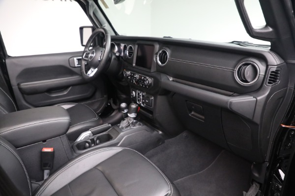 Used 2020 Jeep Wrangler Unlimited Sahara for sale Sold at Maserati of Greenwich in Greenwich CT 06830 20