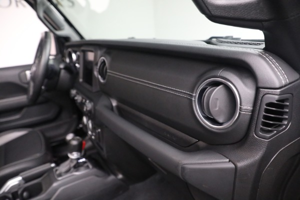 Used 2020 Jeep Wrangler Unlimited Sahara for sale Sold at Maserati of Greenwich in Greenwich CT 06830 21