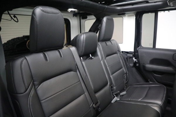 Used 2020 Jeep Wrangler Unlimited Sahara for sale Sold at Maserati of Greenwich in Greenwich CT 06830 24
