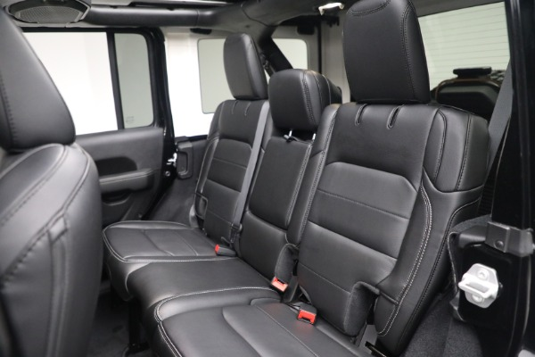 Used 2020 Jeep Wrangler Unlimited Sahara for sale Sold at Maserati of Greenwich in Greenwich CT 06830 25