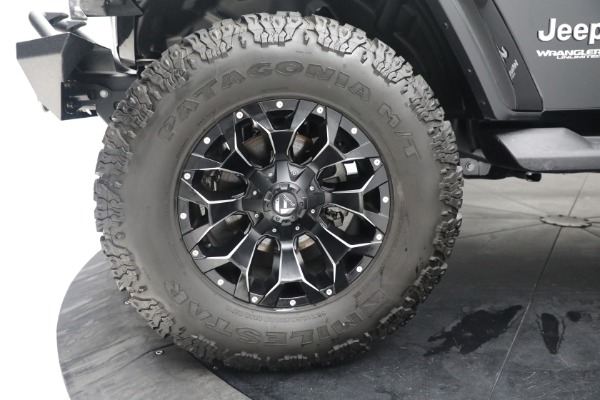 Used 2020 Jeep Wrangler Unlimited Sahara for sale Sold at Maserati of Greenwich in Greenwich CT 06830 26