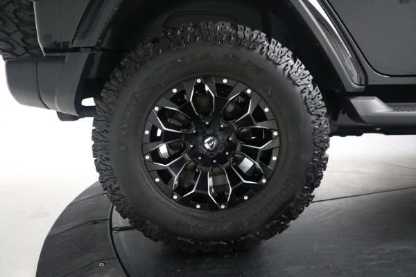 Used 2020 Jeep Wrangler Unlimited Sahara for sale Sold at Maserati of Greenwich in Greenwich CT 06830 27