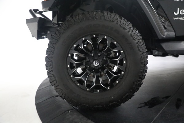 Used 2020 Jeep Wrangler Unlimited Sahara for sale Sold at Maserati of Greenwich in Greenwich CT 06830 28