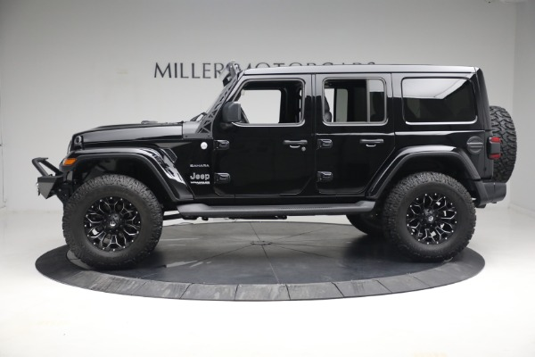 Used 2020 Jeep Wrangler Unlimited Sahara for sale Sold at Maserati of Greenwich in Greenwich CT 06830 4
