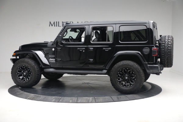 Used 2020 Jeep Wrangler Unlimited Sahara for sale Sold at Maserati of Greenwich in Greenwich CT 06830 5