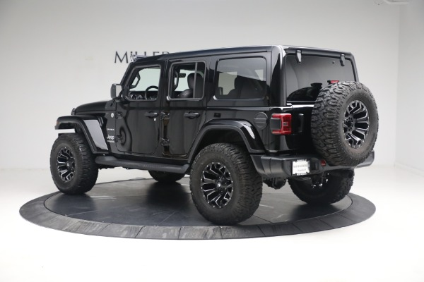 Used 2020 Jeep Wrangler Unlimited Sahara for sale Sold at Maserati of Greenwich in Greenwich CT 06830 6