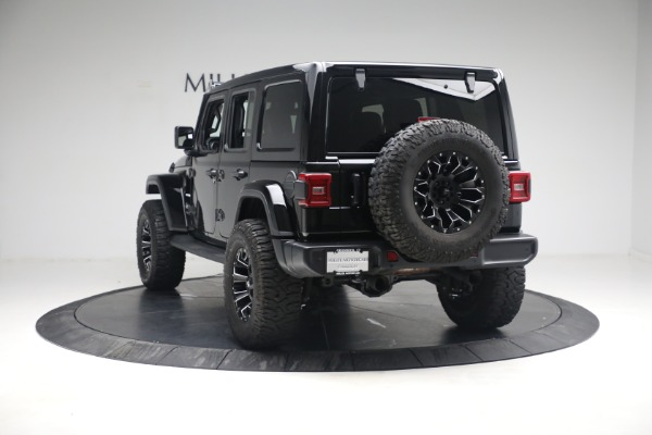 Used 2020 Jeep Wrangler Unlimited Sahara for sale Sold at Maserati of Greenwich in Greenwich CT 06830 7