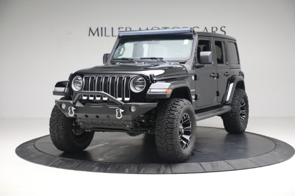 Used 2020 Jeep Wrangler Unlimited Sahara for sale Sold at Maserati of Greenwich in Greenwich CT 06830 1