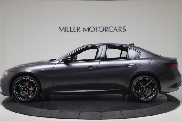 New 2022 Alfa Romeo Giulia Veloce for sale $52,845 at Maserati of Greenwich in Greenwich CT 06830 3