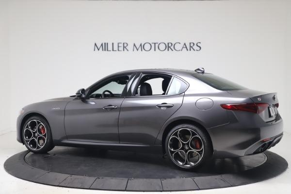 New 2022 Alfa Romeo Giulia Veloce for sale $52,845 at Maserati of Greenwich in Greenwich CT 06830 4