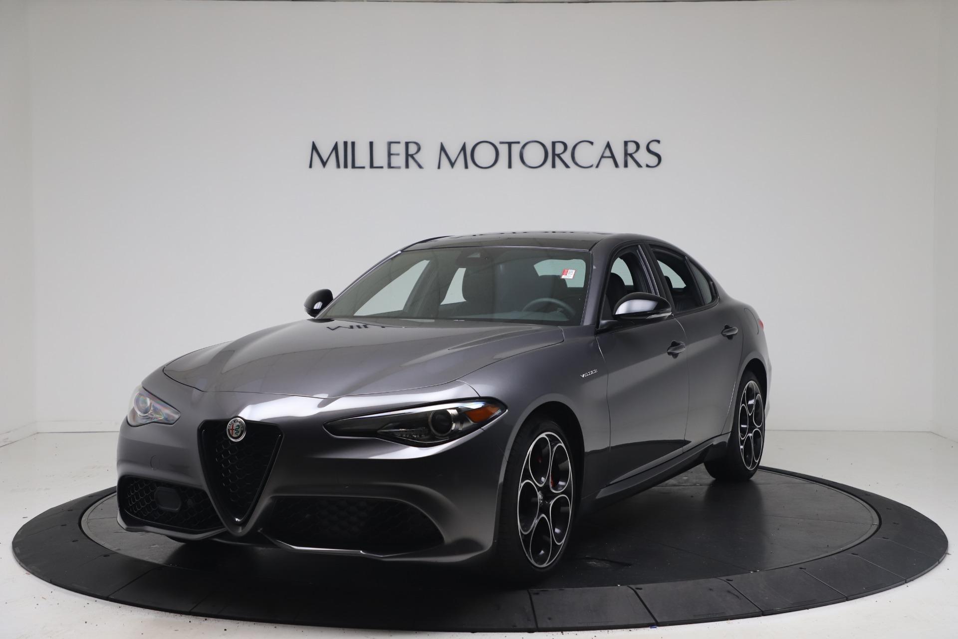 New 2022 Alfa Romeo Giulia Veloce for sale $52,845 at Maserati of Greenwich in Greenwich CT 06830 1