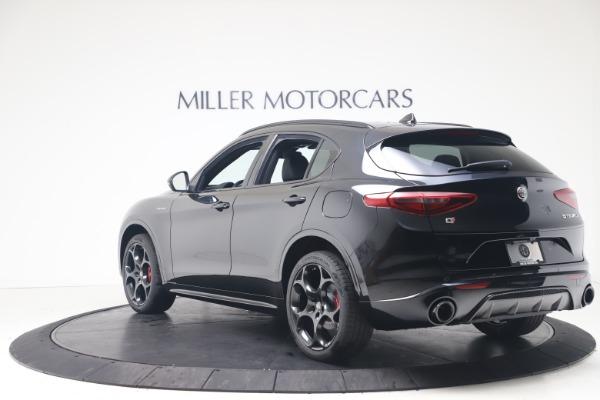 New 2022 Alfa Romeo Stelvio Veloce for sale Sold at Maserati of Greenwich in Greenwich CT 06830 5