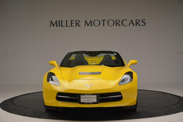 Used 2014 Chevrolet Corvette Stingray Z51 for sale Sold at Maserati of Greenwich in Greenwich CT 06830 12