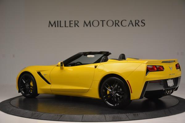 Used 2014 Chevrolet Corvette Stingray Z51 for sale Sold at Maserati of Greenwich in Greenwich CT 06830 4